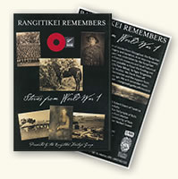 Rangitikei Remembers – Stories from WW1 includes the Story of Bess, and Trooper Roy Dalrymple